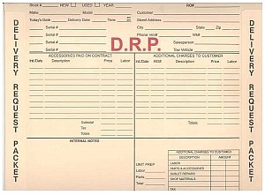 DRP Delivery Request Packet